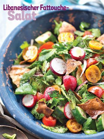 Rezept - Libanesischer Fattouche-Salat - Simply Kochen Sonderheft Sommer-Salate