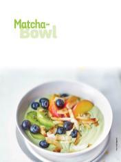 Rezept - Matcha-Bowl - Simply Kochen Sonderheft Frühstücksrezepte