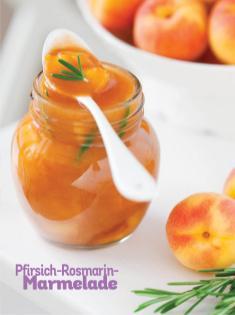 Rezept - Pfirsich-Rosmarin-Marmelade - Simply Kochen Sonderheft Frühstücksrezepte