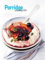 Rezept - Porridge mit fruchtiger Soße - Simply Kochen Sonderheft Frühstücksrezepte
