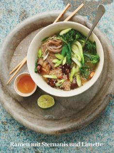 Rezept - Ramen mit Sternanis und Limette - Healthy Vegan Sonderheft - Sommerspecial