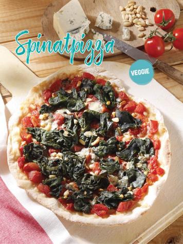 Rezept - Spinatpizza - Simply Kochen Sonderheft Sommerrezepte