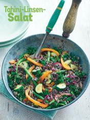 Rezept - Tahini-Linsen-Salat - Simply Kochen Sonderheft Sommer-Salate