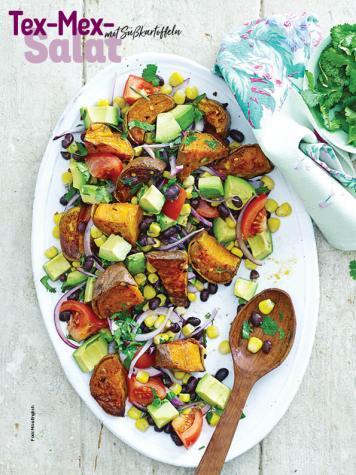 Rezept - Tex-Mex-Salat mit Süßkartoffeln - Simply Kochen Sonderheft Sommer-Salate