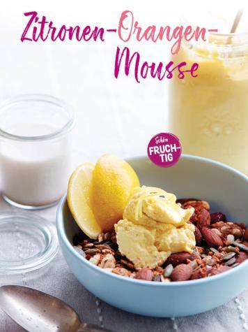 Rezept - Zitronen-Orangen-Mousse - Simply Kochen Sonderheft Sommerrezepte