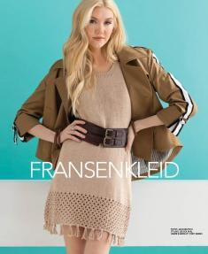 Strickanleitung - Fransenkleid - Designer Knitting 04/2019