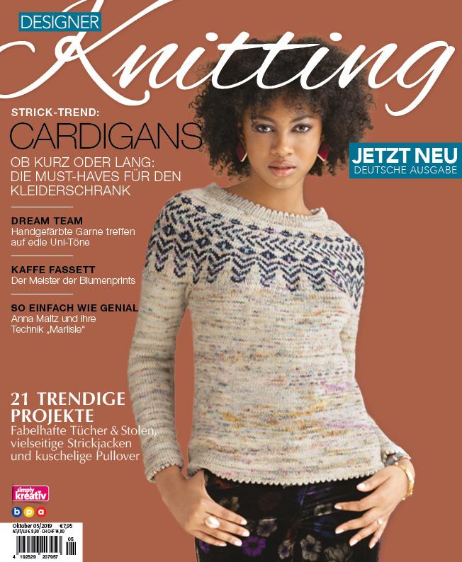 Titel Designer Knitting 5/2019
