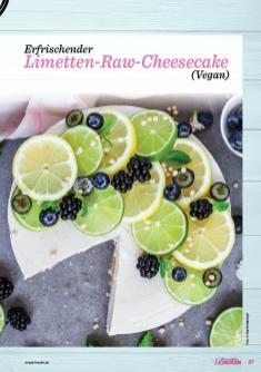Backanleitung - Erfrischender Limetten-Raw-Cheesecake (Vegan) - Das große Backen 05/2019