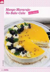 Backanleitung - Mango-Maracuja-No-Bake-Cake à la Janet - Das große Backen 05/2019