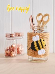 Häkelanleitung - Bee happy - Simply Häkeln 05/2019