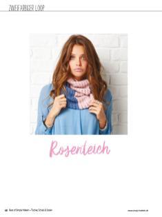 Häkelanleitung - Rosenteich - Simply Häkeln Best of Tücher, Schals und Stolen - 01/2019