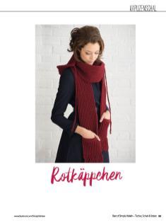 Häkelanleitung - Rotkäppchen - Simply Häkeln Best of Tücher, Schals und Stolen - 01/2019
