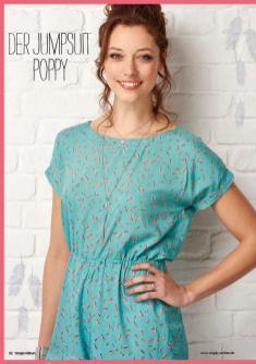 Nähanleitung - Der Jumpsuit Poppy - Simply Nähen - 05/2019
