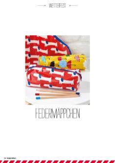 Nähanleitung - Federmäppchen - Simply Nähen - 06/2019
