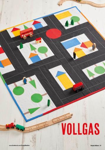 Nähanleitung - Vollgas - Simply Nähen - 06/2019