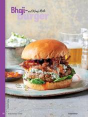 Rezept - Bhaji-Burger mit Minz-Raita - Simply Kochen Orientalisch - 05/2019