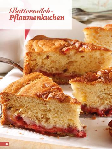 Rezept - Buttermilch-Pflaumenkuchen - Simply Backen Sonderheft Kuchen Äpfel + Pflaumen