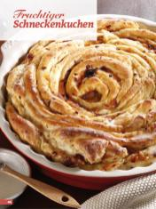Rezept - Fruchtiger Schneckenkuchen - Simply Backen Sonderheft Kuchen Äpfel + Pflaumen