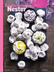 Rezept - Kardamom-Baiser-Nester - Simply Kochen Orientalisch - 05/2019