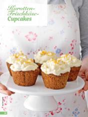 Rezept - Karotten-Frischkäse-Cupcakes - Simply Backen - 04/2019