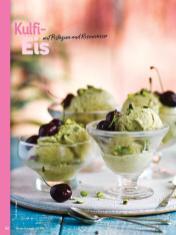 Rezept - Kulfi-Eis mit Pistazien und Rosenwasser - Simply Kochen Orientalisch - 05/2019