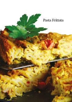 Rezept - Pasta Frittata - Healthy Vegan 05/2019