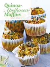 Rezept - Quinoa-Aprikosen-Muffins - Simply Backen - 04/2019