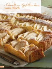 Rezept - Schneller Apfelkuchen vom Blech - Simply Backen Sonderheft Kuchen Äpfel + Pflaumen