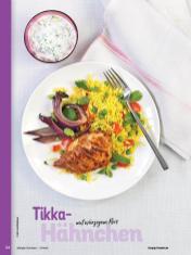Rezept - Tikka-Hähnchen mit würzigem Reis - Simply Kochen Orientalisch - 05/2019
