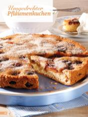 Rezept - Umgedrehter Pflaumenkuchen - Simply Backen Sonderheft Kuchen Äpfel + Pflaumen
