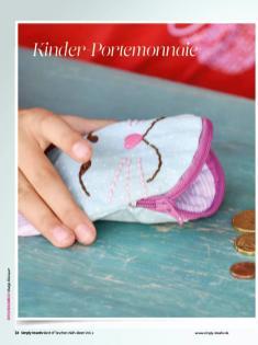 Nähanleitung - Kinder-Portemonnaie - Simply Kreativ Best of Taschen-Näh-Ideen Vol. 2