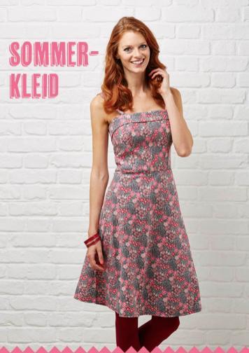 Nähanleitung - Sommerkleid - Simply Nähen Best of Kleider