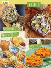 Rezept - Artischockenpaste / Nöberwurst / Tomaten-Brotaufstrich / Karottenlachs - Clean Food - olala solala mit Andrea Sokol - 01/2019