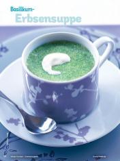 Rezept - Basilikum-Erbsensuppe - Simply Kochen Sonderheft Sommer-Suppen