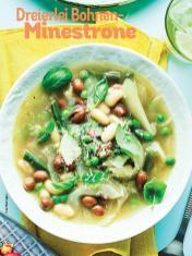 Rezept - Dreierlei Bohnen-Minestrone - Simply Kochen Sonderheft Sommer-Suppen