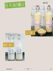 Rezept - Hafermilch & Mandelmilch - Clean Food - olala solala mit Andrea Sokol - 01/2019