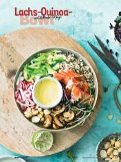 Rezept - Lachs-Quinoa-Bowl mit Wasabi-Mayo - Simply Kochen Sonderheft Bowls