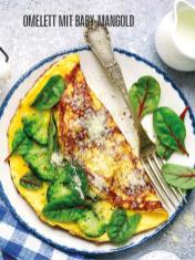 Rezept - Omelett mit Baby-Mangold - Bewusst Lowcarb Sonderheft - 02/2019