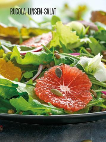 Rezept - Rucola-Linsen-Salat - Bewusst Lowcarb Sonderheft - 02/2019