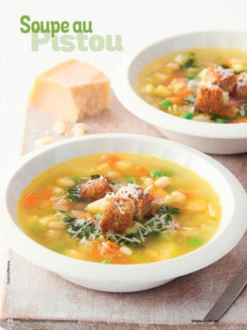 Rezept - Soupe au Pistou - Simply Kochen Sonderheft Sommer-Suppen