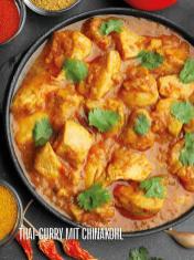 Rezept - Thai-Curry mit Chinakohl - Bewusst Lowcarb Sonderheft - 02/2019