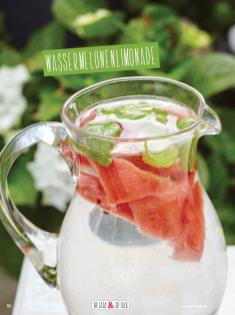 Rezept - Wassermelonen-Limonade - Clean Food - olala solala mit Andrea Sokol - 01/2019