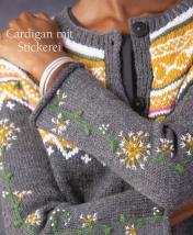 Strickanleitung - Cardigan mit Stickerei - Designer Knitting - 05/2019