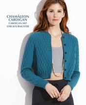 Strickanleitung - Chamäleon Cardigan - Cardigan mit Strukturmuster - Designer Knitting - 05/2019