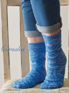Strickanleitung - Cumulus - Simply Kreativ - Best of Socken Stricken - 01/2019