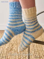 Strickanleitung - Endlose Streifen - Simply Kreativ - Best of Socken Stricken - 01/2019