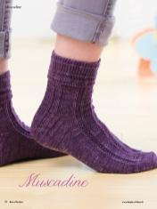 Strickanleitung - Muscadine - Simply Kreativ - Best of Socken Stricken - 01/2019