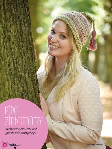 Strickanleitung - Pipo Zipfelmütze - Best Of Crasy Sylvie - 02/2019