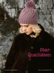 Strickanleitung - Star-Qualitäten - Simply Stricken Mützenspecial - Mützen und Accessoires stricken - 01/2019