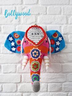 Häkelanleitung - Bollywood - Best of Simply Häkeln Home-Deko 03/2019